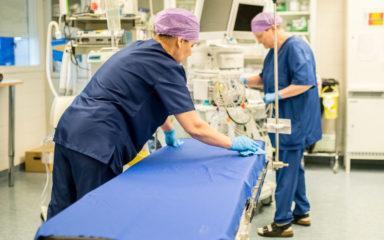 Puhtaus on tärkeä osa potilasturvallisuutta