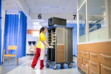 Sairaaloissa puhtaanapidon laatu on tärkeää.